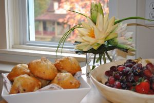 Bed and breakfast -- fresh baking