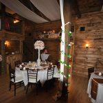 Reception - tables & bar